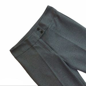 UNITED COLORS OF BENETTON grey wide leg trousers